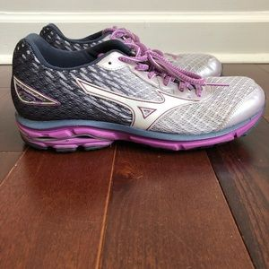MIZUNO Wave Rider 19 Running Shoes Sneakers Size 9